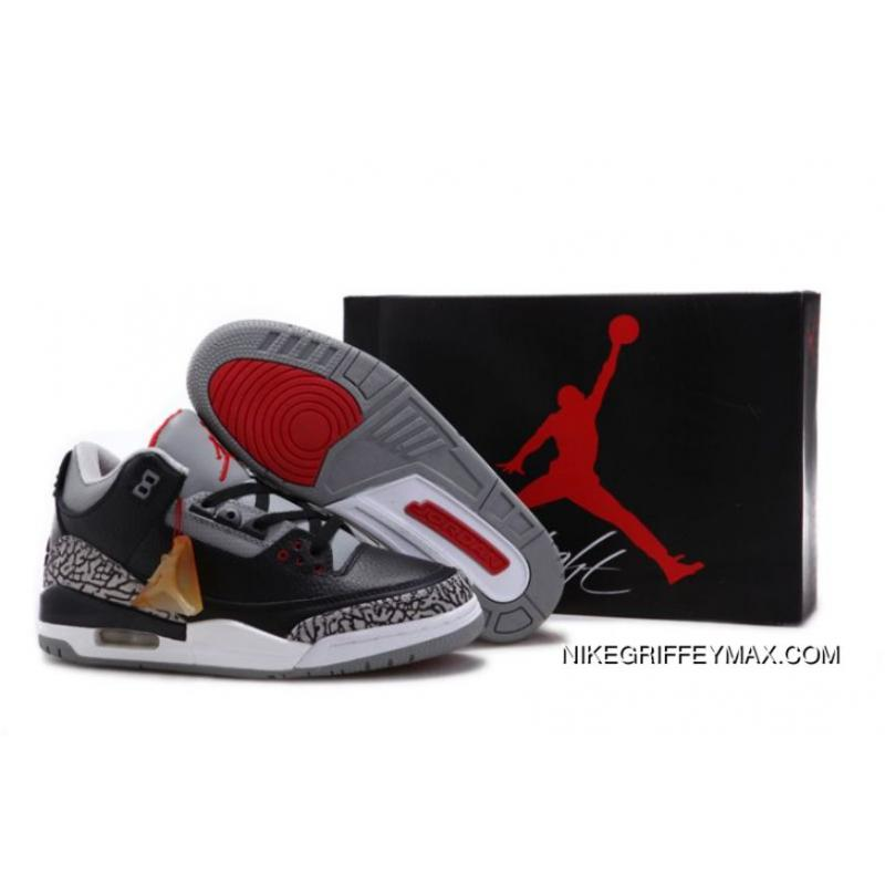 the best attitude b3398 4030e New Year Deals Air Jordan III Men Nike Zoom Vapor Air Jordan 3 Aka Air  Jordan 3 RF Men Nike Air Jordan Retro III 3 BLACK CEMENT WHITE FIRE RED Men  Air ...