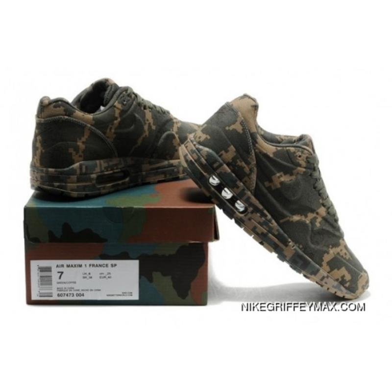 finest selection 983e1 2ee7d ... Mens Nike Air Max 1 87 Releases Pixel Dark Green New Year Deals ...