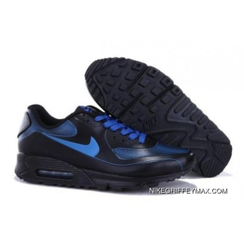 f2ac8fcdc154c6 Nike Air Max 90 Vt Black Blue Mens New Year Deals ...