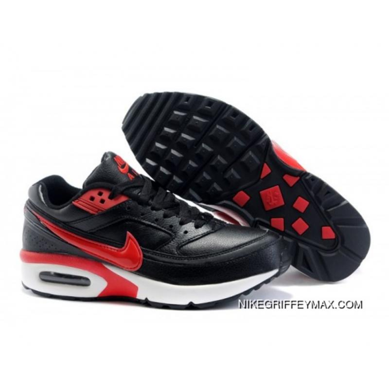 a8fa985fe596 Discount Mens Nike Air Max Classic Bw Red Black ...