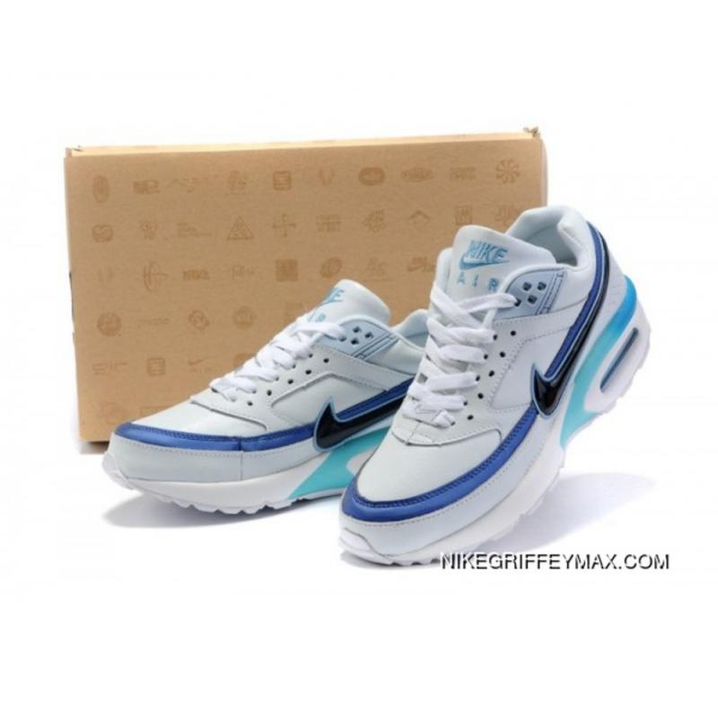 low priced c8380 61678 New Style Mens Nike Air Max Classic Bw White Blue Green ...