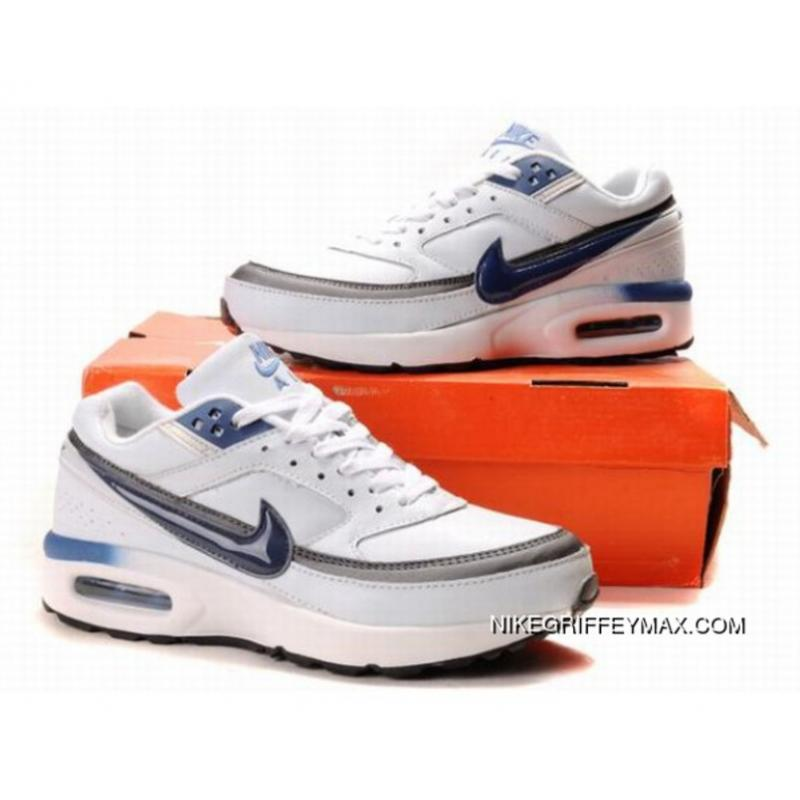 huge selection of f66c3 668d1 Mens Nike Air Max Classic Bw White Gray Blue Best ...