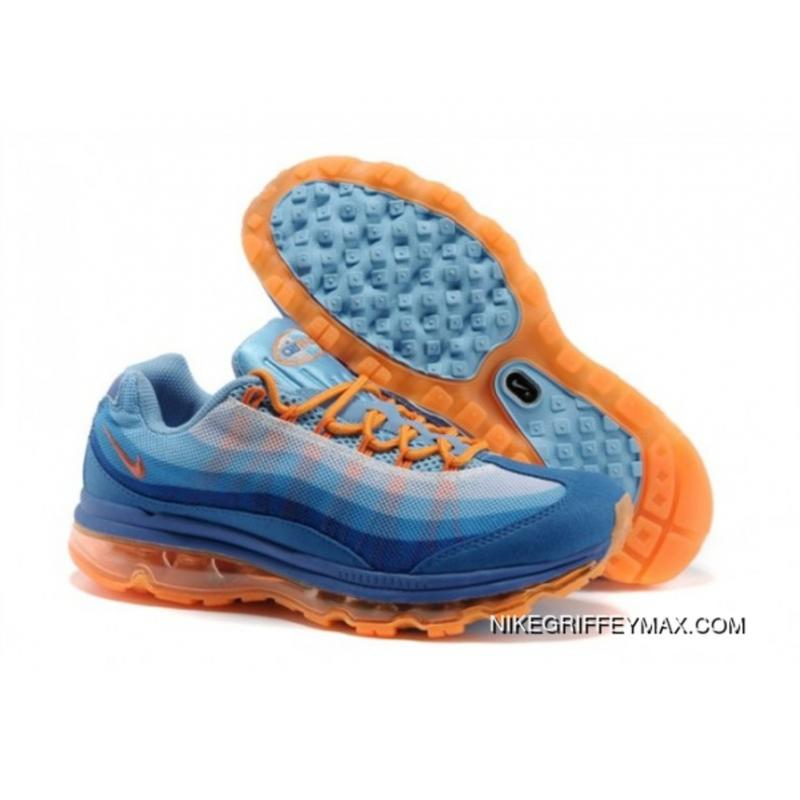 best loved c9325 5513a Best Womens Nike Air Max 95 360 Wire Drawing Blue Orange ...