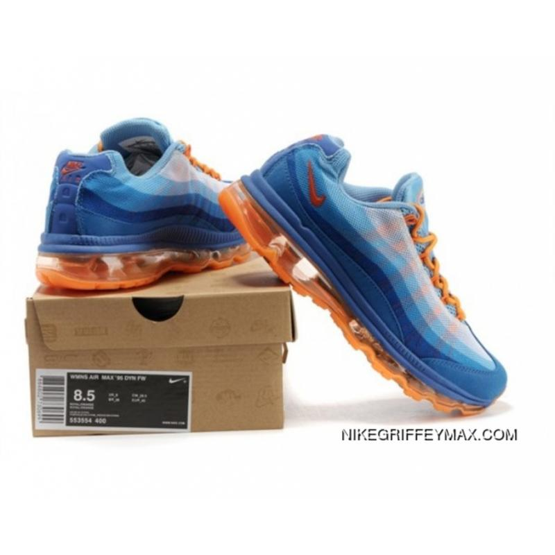 948dd26ffa Best Womens Nike Air Max 95 360 Wire Drawing Blue Orange, Price ...