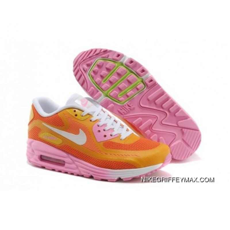 New Year Deals Womens Nike Air Max Lunar 90 Orange ...
