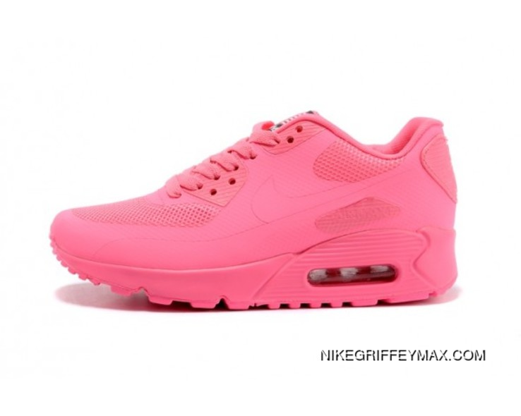 timeless design 6dd32 52592 Womens Nike Air Max 90 Hyperfuse Qs All Pink Outlet