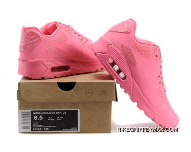 timeless design 4527b 01d0e Womens Nike Air Max 90 Hyperfuse Qs All Pink Outlet
