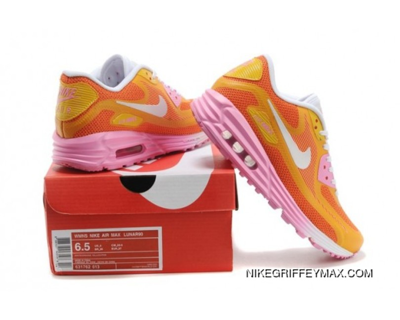 lowest price 9688e 26045 ... where can i buy new year deals womens nike air max lunar 90 orange  abccb 1eaf2
