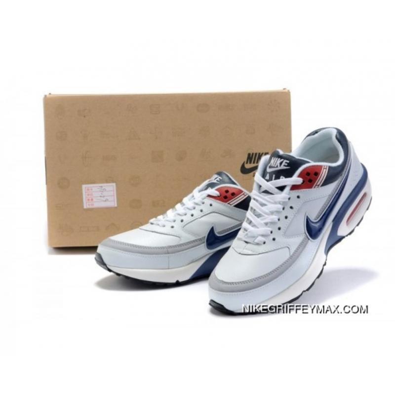 nouveau produit 2fa35 ab1ff For Sale Mens Nike Air Max Classic Bw White Blue Red