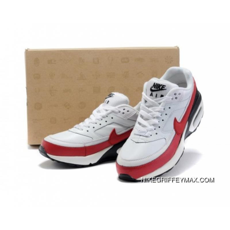 new style e99c1 12c24 Super Deals Nike Air Max Classic Bw White Red Black Mens, Price ...