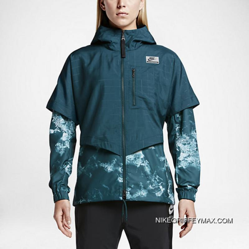 Nike International Windrunner Womens Jacket Midnight Turquoise ... 65f6d005c8
