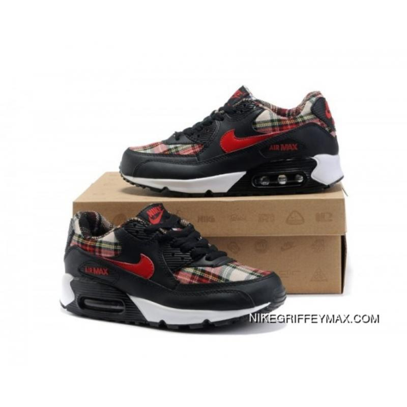sports shoes 48d1d cfe1a ... promo code new year deals womens nike air max 90 black red 15af6 dadaa