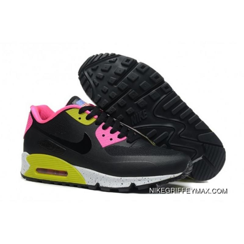 purchase cheap d5d59 83cd5 Free Shipping Womens Nike Air Max 90 Hyp Qs Black Pink Green ...
