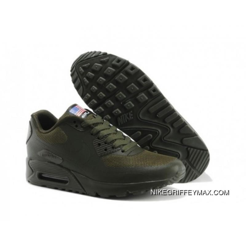 new product 05297 fa193 New Release Womens Nike Air Max 90 Hyperfuse Prm Army Green ...