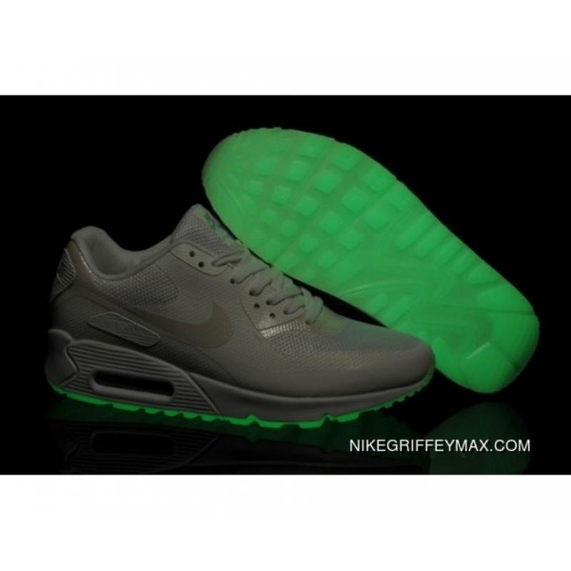 timeless design 61e7c 3e20b Womens Nike Air Max 90 Hyperfuse Prm Grey New Release ...