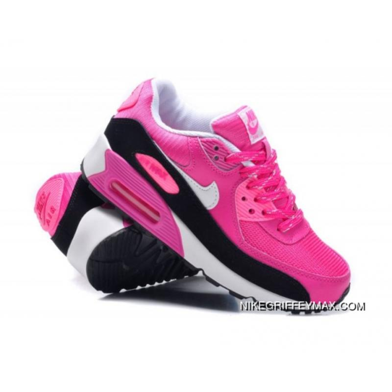uk availability cd46c d50ed Womens Nike Air Max 90 Hyperfuse Red White Black Outlet ...
