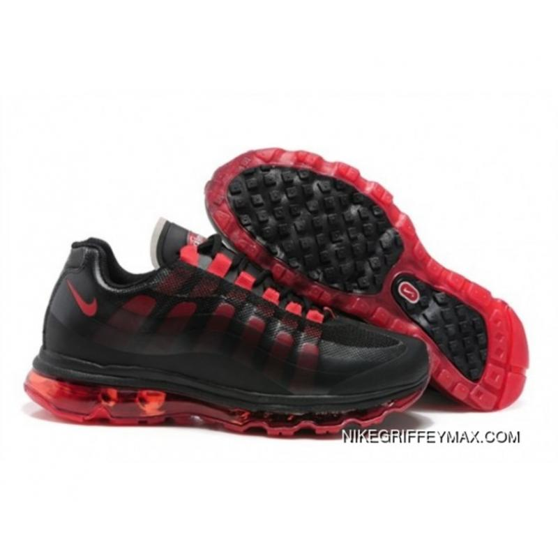 promo code b2f76 f4dea New Year Deals Womens Nike Air Max 95 360 Black Red, Price: $76.19 ...