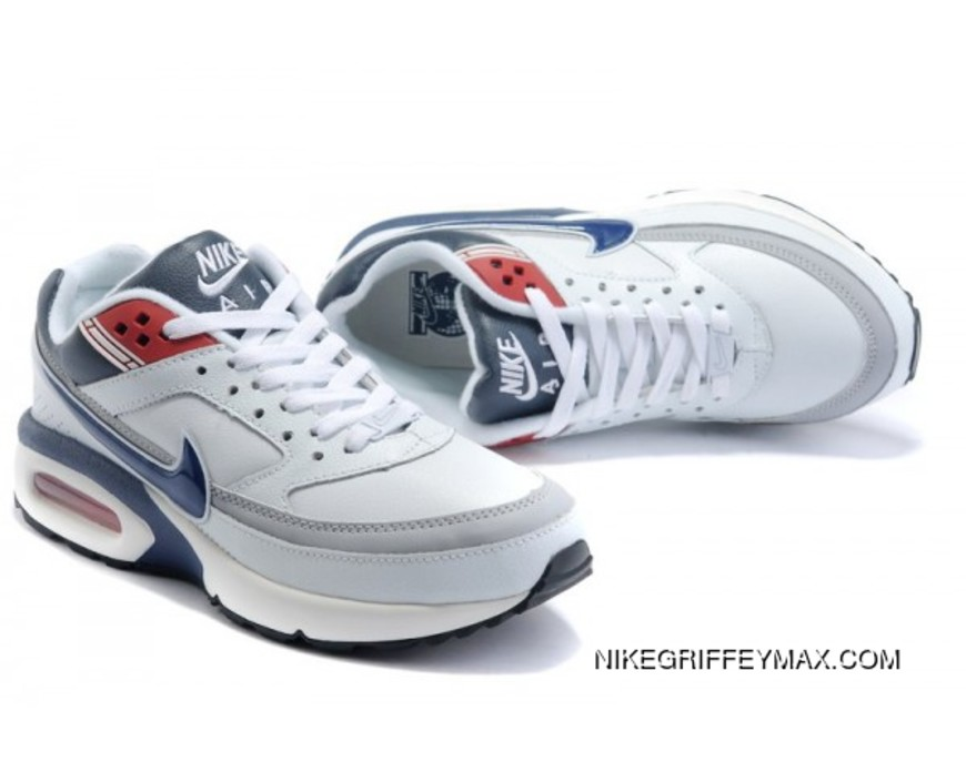 For Sale Mens Nike Air Max Classic Bw White Blue Red