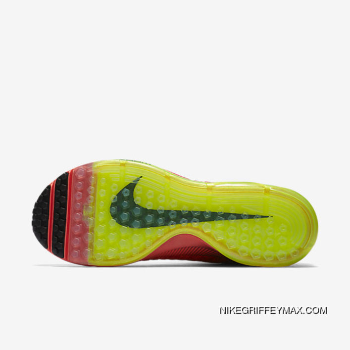 ce5f554b40a5 Outlet Nike Air Zoom All Out Flyknit Mens Running Shoe Bright Crimson  V82190-290