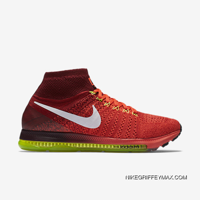 genuine shoes huge discount exquisite style Outlet Nike Air Zoom All Out Flyknit Mens Running Shoe ...