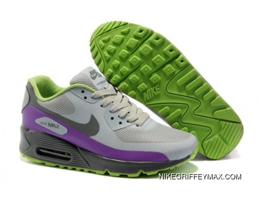 425b7d6750db Womens Nike Air Max 90 Hyperfuse Prm Grey New Release